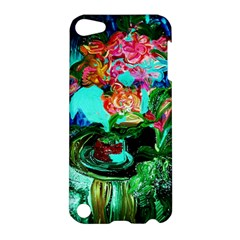 Flowers On The Tea Table Apple Ipod Touch 5 Hardshell Case by bestdesignintheworld