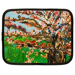 Coral Tree Netbook Case (xl)  by bestdesignintheworld