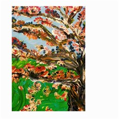 Coral Tree Large Garden Flag (two Sides) by bestdesignintheworld