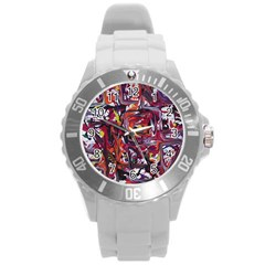 Connections Round Plastic Sport Watch (l) by bestdesignintheworld