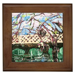 Blooming Tree 2 Framed Tiles by bestdesignintheworld