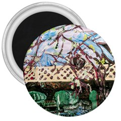 Blooming Tree 2 3  Magnets by bestdesignintheworld