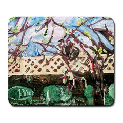 Blooming Tree 2 Large Mousepads by bestdesignintheworld
