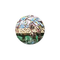 Blooming Tree 2 Golf Ball Marker (10 Pack) by bestdesignintheworld