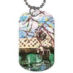 Blooming Tree 2 Dog Tag (two Sides) by bestdesignintheworld