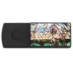 Blooming Tree 2 Rectangular Usb Flash Drive by bestdesignintheworld