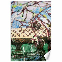 Blooming Tree 2 Canvas 24  X 36  by bestdesignintheworld