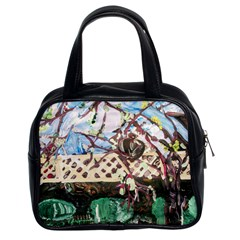 Blooming Tree 2 Classic Handbags (2 Sides) by bestdesignintheworld