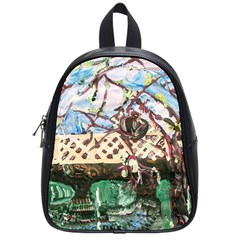 Blooming Tree 2 School Bag (small) by bestdesignintheworld