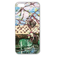 Blooming Tree 2 Apple Seamless Iphone 5 Case (clear) by bestdesignintheworld