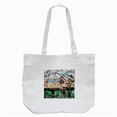 Blooming Tree 2 Tote Bag (white) by bestdesignintheworld