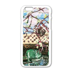 Blooming Tree 2 Apple Iphone 6/6s White Enamel Case by bestdesignintheworld