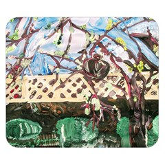 Blooming Tree 2 Double Sided Flano Blanket (small)  by bestdesignintheworld