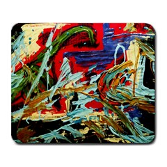 Blue Flamingoes 6 Large Mousepads by bestdesignintheworld