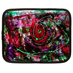 Bloody Coffee 7 Netbook Case (large) by bestdesignintheworld