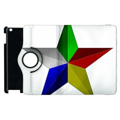 Druze Star Apple Ipad 2 Flip 360 Case by abbeyz71