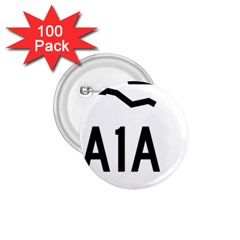 Florida State Road A1a 1 75  Buttons (100 Pack)  by abbeyz71