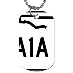 Florida State Road A1a Dog Tag (two Sides) by abbeyz71