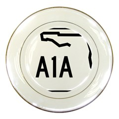 Florida State Road A1a Porcelain Plates by abbeyz71