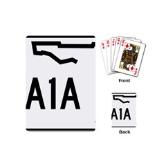 Florida State Road A1a Playing Cards (mini)  by abbeyz71
