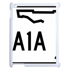 Florida State Road A1a Apple Ipad 2 Case (white) by abbeyz71