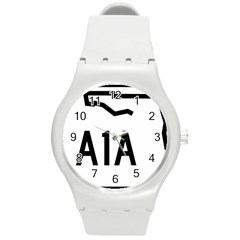 Florida State Road A1a Round Plastic Sport Watch (m) by abbeyz71