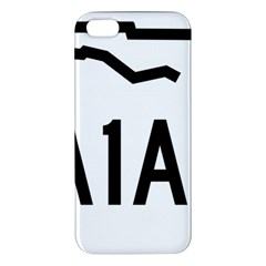 Florida State Road A1a Apple Iphone 5 Premium Hardshell Case by abbeyz71
