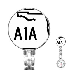 Florida State Road A1a Stainless Steel Nurses Watch by abbeyz71