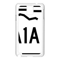 Florida State Road A1a Samsung Galaxy Note 3 N9005 Case (white) by abbeyz71