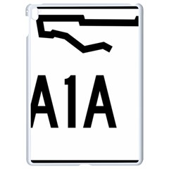 Florida State Road A1a Apple Ipad Pro 9 7   White Seamless Case by abbeyz71