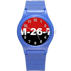 The 26th Of July Movement Flag Round Plastic Sport Watch (s) by abbeyz71