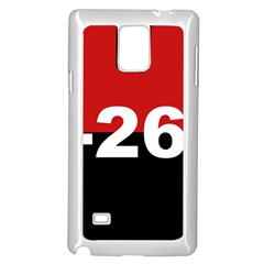 The 26th Of July Movement Flag Samsung Galaxy Note 4 Case (white) by abbeyz71