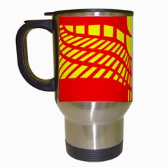 Aramean Syriac Flag Travel Mugs (white) by abbeyz71