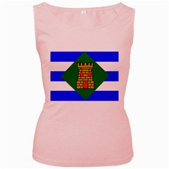 Flag Of Vieques Women s Pink Tank Top by abbeyz71