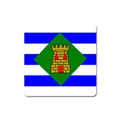 Flag Of Vieques Square Magnet by abbeyz71