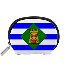 Flag Of Vieques Accessory Pouches (small)  by abbeyz71