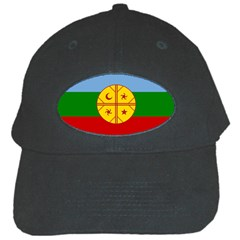 Flag Of The Mapuche People Black Cap by abbeyz71