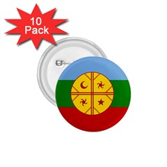 Flag Of The Mapuche People 1 75  Buttons (10 Pack) by abbeyz71