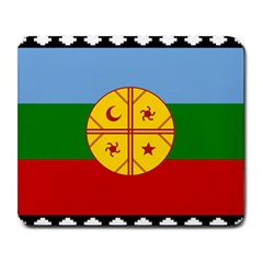 Flag Of The Mapuche People Large Mousepads by abbeyz71