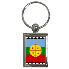 Flag Of The Mapuche People Key Chains (rectangle)  by abbeyz71