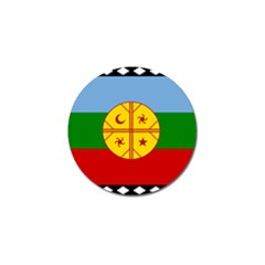 Flag Of The Mapuche People Golf Ball Marker (10 Pack) by abbeyz71