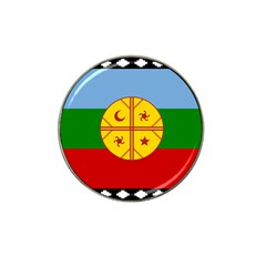 Flag Of The Mapuche People Hat Clip Ball Marker by abbeyz71