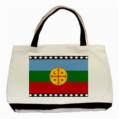 Flag Of The Mapuche People Basic Tote Bag by abbeyz71