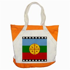 Flag Of The Mapuche People Accent Tote Bag by abbeyz71