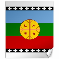 Flag Of The Mapuche People Canvas 8  X 10  by abbeyz71