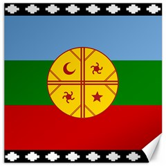 Flag Of The Mapuche People Canvas 16  X 16   by abbeyz71