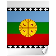 Flag Of The Mapuche People Canvas 18  X 24   by abbeyz71