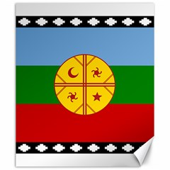 Flag Of The Mapuche People Canvas 20  X 24   by abbeyz71
