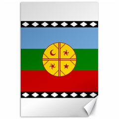 Flag Of The Mapuche People Canvas 20  X 30   by abbeyz71