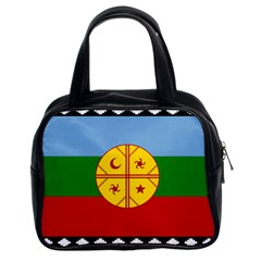 Flag Of The Mapuche People Classic Handbags (2 Sides) by abbeyz71